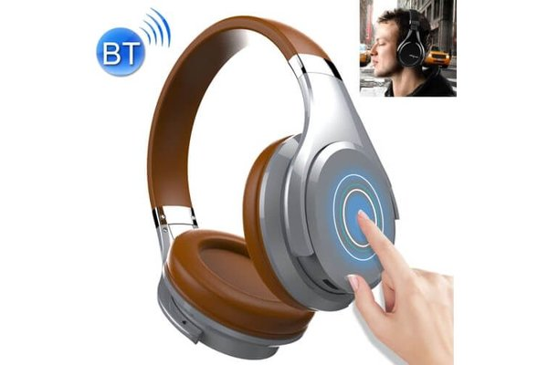 Zealot Draadloze koptelefoon met microfoon bruin B21