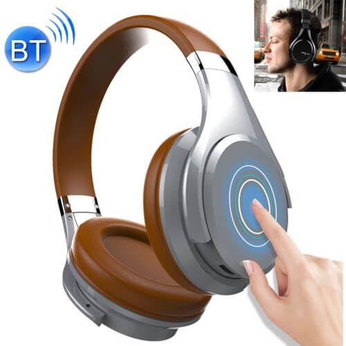 Draadloze Koptelefoon Met Microfoon Bruin B21 Bestel Nu