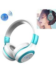 Zealot Draadloze koptelefoon met microfoon wit\blauw B20