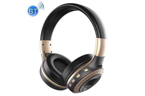 Zealot Draadloze koptelefoon met microfoon goud B19