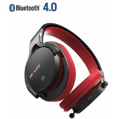 Zealot Draadloze koptelefoon met microfoon rood B5
