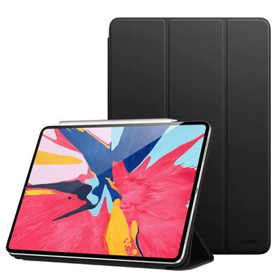 ESR iPad Pro 12.9 (2018) Smart Cover Zwart magnetisch
