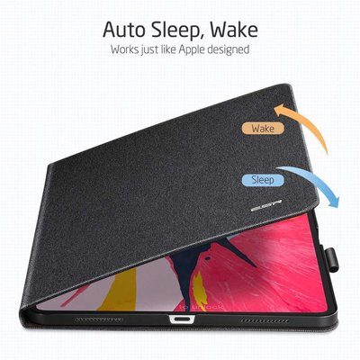 ESR iPad Pro 11 hoes Design zwart