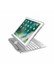 iPadspullekes.nl iPad 2017 toetsenbord met afneembare case zilver