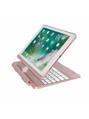 iPadspullekes.nl iPad 2017 toetsenbord met afneembare case roze