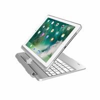 iPadspullekes.nl iPad Air toetsenbord met afneembare case zilver