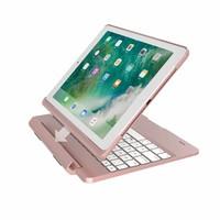 iPadspullekes.nl iPad Pro 9.7 toetsenbord met afneembare case roze