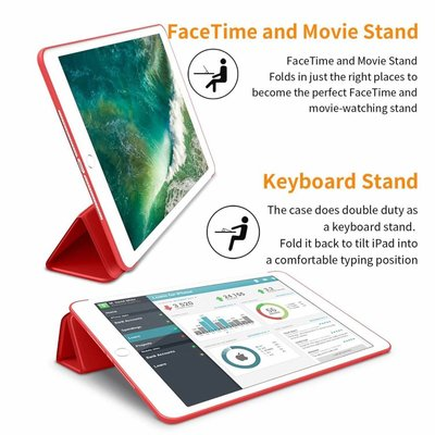iPadspullekes.nl iPad Pro 11 Smart Cover Case Rood