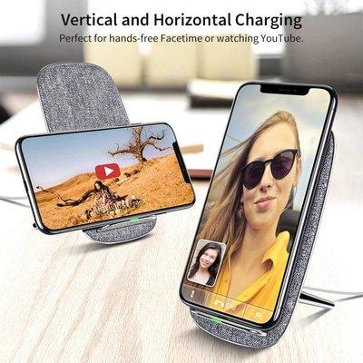 ESR Draadloze oplader voor iPhone XS Max Qi Zilver