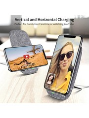ESR Draadloze oplader voor iPhone XR Qi Zilver