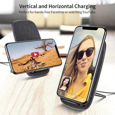 ESR Draadloze oplader voor iPhone XS Max Qi Donker Grijs
