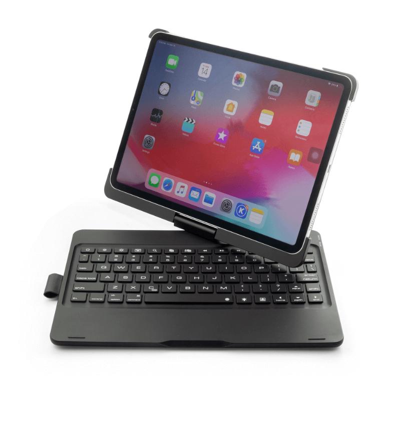 iPad Pro 11 toetsenbord Draaibaar case zwart - Gratis ...
