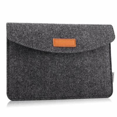 iPadspullekes.nl iPad 2018 sleeve donker grijs