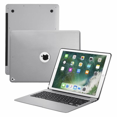 iPadspullekes.nl iPad Pro 12.9 (2017) toetsenbord hoes space grey