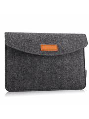 iPadspullekes.nl iPad 2017 sleeve donker grijs