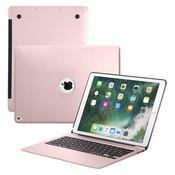 iPadspullekes.nl iPad Pro 12.9 (2015) toetsenbord hoes roze