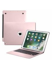 iPadspullekes.nl iPad Pro 12.9 (2017) toetsenbord hoes roze