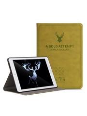 iPadspullekes.nl iPad Air 2019 hoes leer (lime) groen