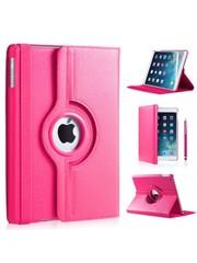 iPadspullekes.nl iPad Air 2019 hoes 360 graden roze leer