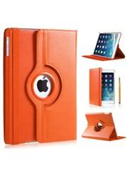 iPadspullekes.nl iPad Air 2019 hoes 360 graden oranje leer