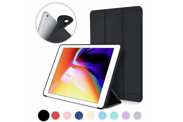 iPadspullekes.nl iPad Air 2019 Smart Cover Case Zwart