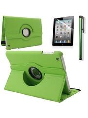 iPadspullekes.nl iPad Mini 5 hoes 360 graden leer groen