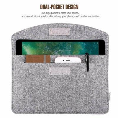 iPadspullekes.nl iPad Pro 12.9 (2015/2017/2018) sleeve licht grijs