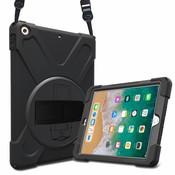 iPadspullekes.nl iPad Mini 4 Protector Hoes met handvat en schouderriem en standaard