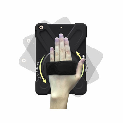iPadspullekes.nl iPad Mini 5 Protector Hoes met handvat en schouderriem en standaard