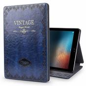iPadspullekes.nl iPad hoes Air 2019 leer vintage blauw