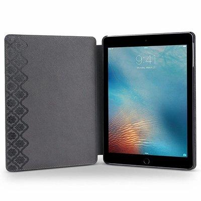 iPadspullekes.nl iPad hoes Mini 4 leer vintage blauw