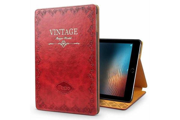 iPadspullekes.nl iPad hoes Air 2019 leer vintage rood