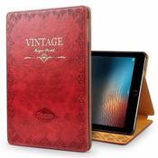 iPadspullekes.nl iPad hoes Pro 10.5 leer vintage rood
