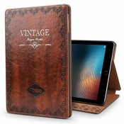 iPadspullekes.nl iPad hoes Pro 10.5 leer vintage bruin