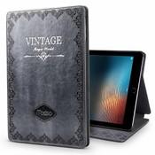 iPadspullekes.nl iPad hoes Air 2019 leer vintage grijs