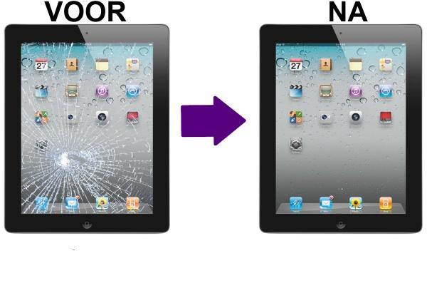 iPad scherm herstellen