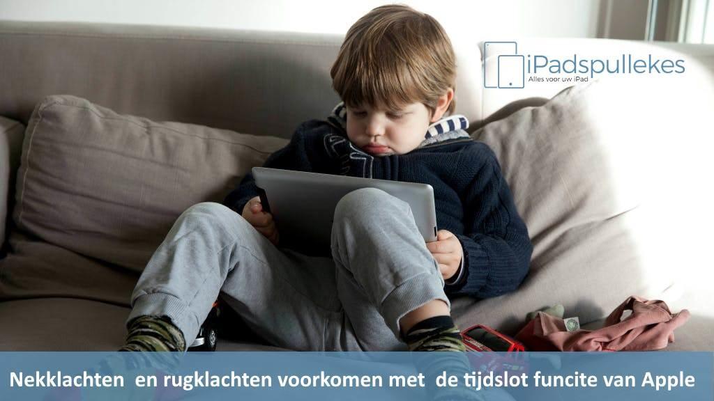Tijdslimiet instellen op iPad