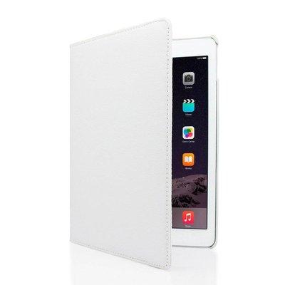 iPadspullekes.nl iPad hoes 360 graden wit leer