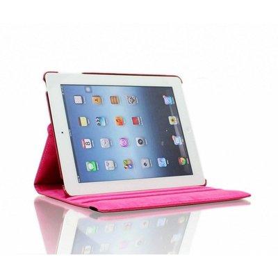 iPadspullekes.nl iPad Air 2 hoes 360 graden roze leer