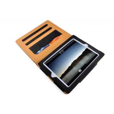 iPadspullekes.nl iPad hoes Air 2019 luxe leer bruin zwart