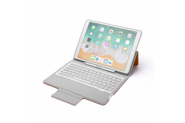 iPadspullekes.nl iPad 2017 toetsenbord Smart Folio Oranje