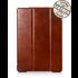 IcareR iPad 2018 Smart Cover Leer Bruin