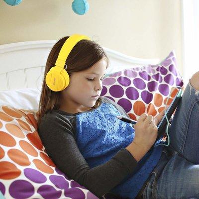 iPadspullekes.nl Koptelefoon kind Geel