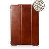 IcareR iPad 2017 Smart Cover Leer Bruin