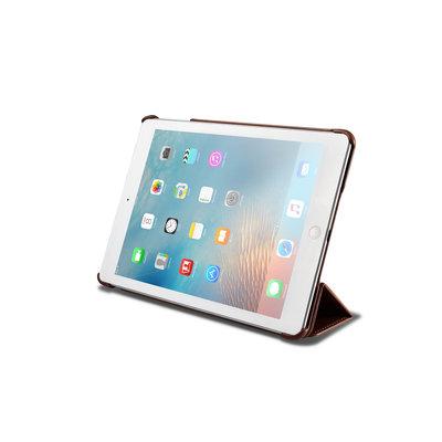 IcareR iPad 2018 Smart Cover Leer Zwart