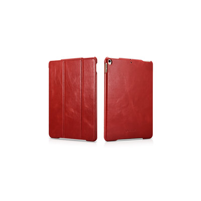 IcareR iPad 2018 Smart Cover Leer Rood