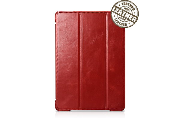 IcareR iPad Air Smart Cover Leer Rood