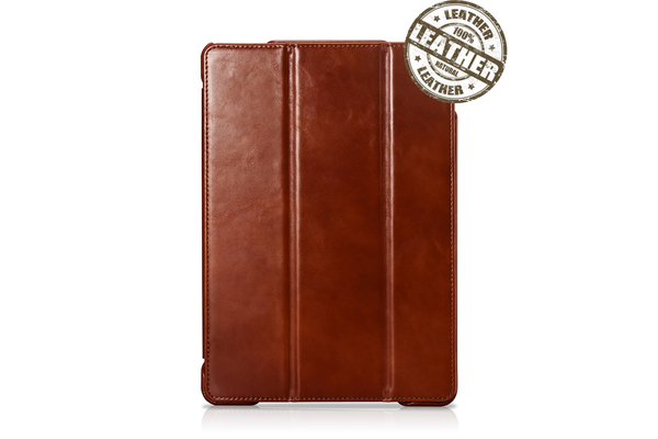 IcareR iPad Air 2019 Smart Cover Leer Bruin