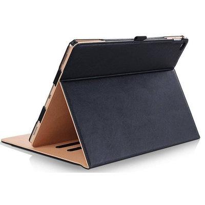 Apple iPad 9.7 2017 / 2018 Luxe Leren Hoes met Auto Wake Functie en 3 Standen – Binnenkant Gemaakt van Zijdezacht Microvezel – Lederen Hoes / Case / Hoesjes / Cover / Hoesje