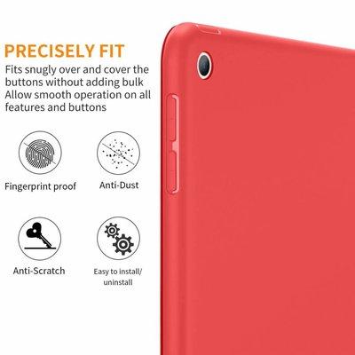 iPadspullekes.nl iPad 2019 10.2 Smart Cover Case Rood